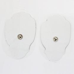 Almofada de Elétrodo Snap de Dez, Forma de Mão, 77x49mm
