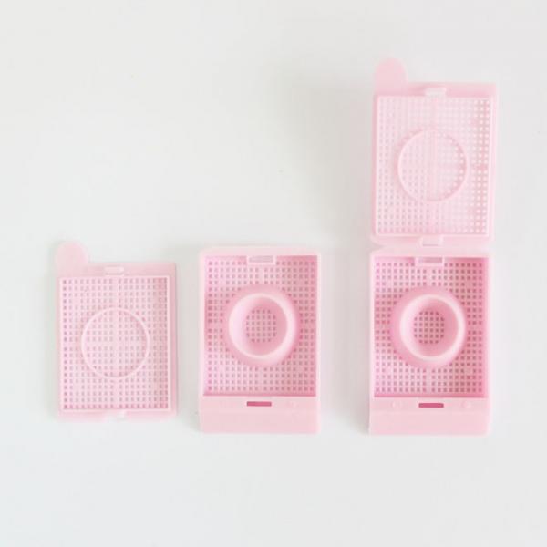 Cassete para Embalagem de Processamento de Biópsias