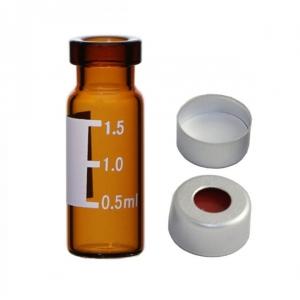 Frascos de amostrador automático de 2 ml com tampa de crimpagem
