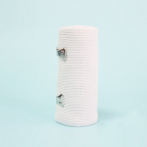 Atadura elástica alta branca