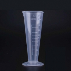 Copo de medição tri em plástico