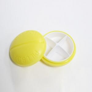 Caixa do comprimido de 4 compartimentos