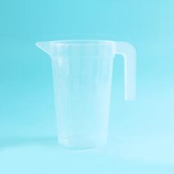 Copo de medição plástico do hospital 1400ml