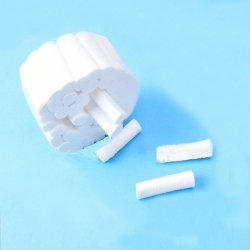 Rolo de algodão dental